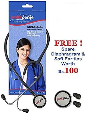Healthgenie Doctors Dual Stainless Steel Stethoscope HG-301G