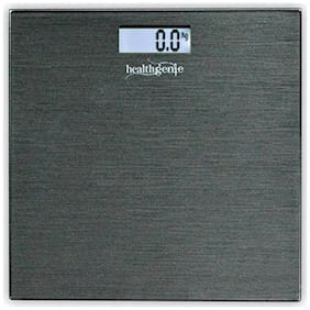 Healthgenie Digital Weighing Scale HD-221 Dark Grey