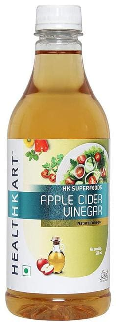 Healthkart Apple Cider Vinegar 500 ml (Filtered)