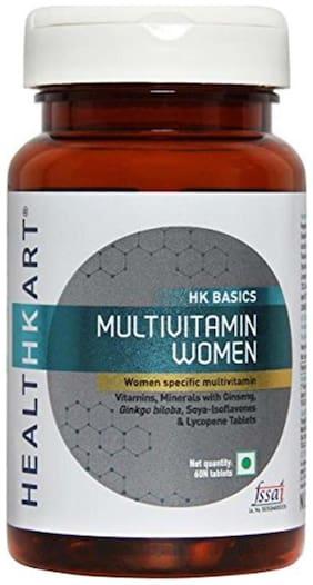 HealthKart Multivitamin Women Unflavoured 60 tablets