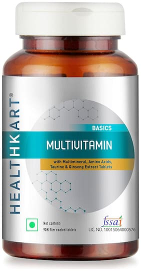 HealthKart Multivitamin Unflavoured 90 tablets