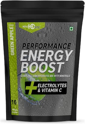 HEALTHOXIDE Energy Boost Extra Power Energy Drink (Green Apple )500g