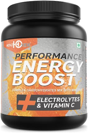 HEALTHOXIDE Energy Boost Extra Power Energy Drink (Orange ) 1 kg