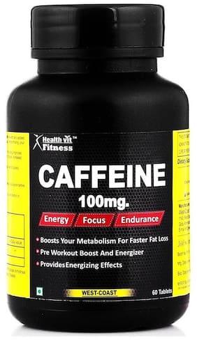Healthvit Fitness Caffeine 100Mg 60 Tablets
