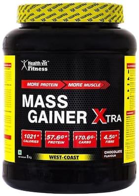 HealthVit Mass Gainer Xtra Chocolate Flavour 0.99 kg (2.2 lb)