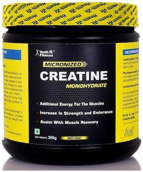 HealthVit Micronized Creatine Powder - 300 gm (Unflavored)