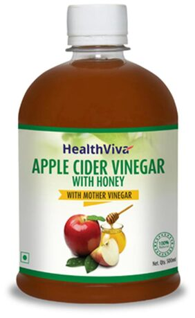 HealthViva Apple Cider Vinegar With Honey 500 ml