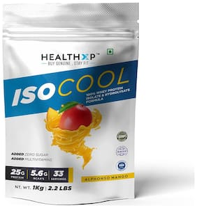 HealthXP Essential Series Iso cool Alphonso Mango 1 kg (Pack Of 1)