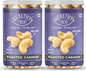 Healthy Treat Premium Roasted Cashew 200g(Pack Of 2)