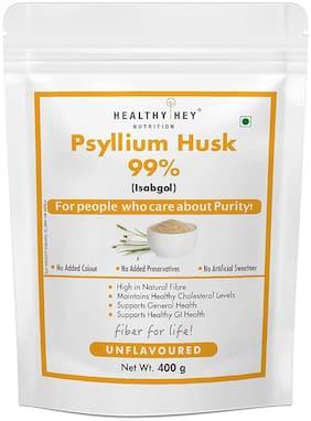 HealthyHey Nutrition Psyllium Husk 99% - Fibre Support - 400 g