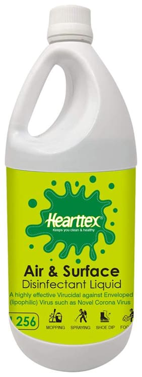 Hearttex Air & Surface Disinfectant Liquid 500 ml (Pack Of 1)