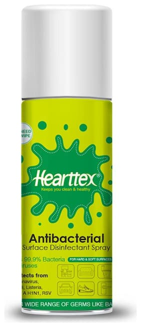 Hearttex Anti Bacterial Surface Disinfectant Spray 75 ml (Pack Of 1)