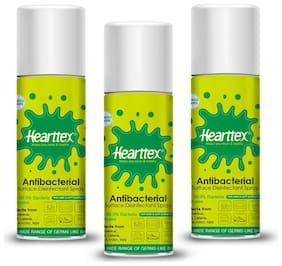 Hearttex Combo of 3 Anti Bacterial Surface Disinfectant Spray 75 ml (Pack Of 3)