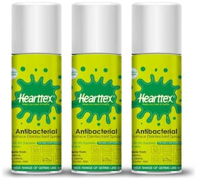 Hearttex Combo of 3 Anti Bacterial Surface Disinfectant Spray 500 ml (Pack Of 3)