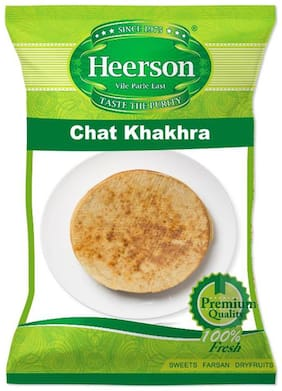 Heerson Chat Khakhra 200g X 2 Packs