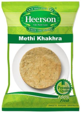 Heerson Methi Khakhra 200g X 2 Packs