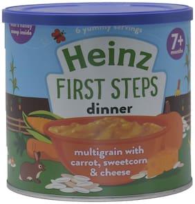 Heinz First Steps Multigrain with Cauliflower;Broccoli & Cheese - 200g