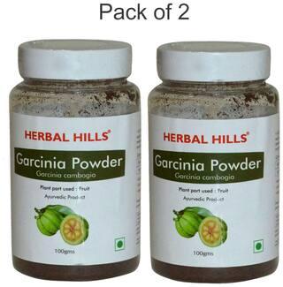 Buy Herbal Hills Garcinia Powder 100 G Pack Of 2 Natural
