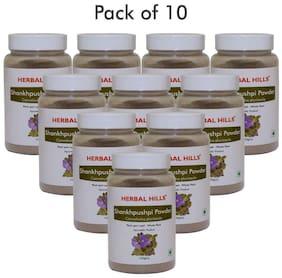 Herbal Hills Shankhpushpi Powder 100 gms (Pack of 10)