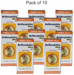 Herbal Hills Arthrohills Ultra Oil - 100 ml  (Pack of 10)
