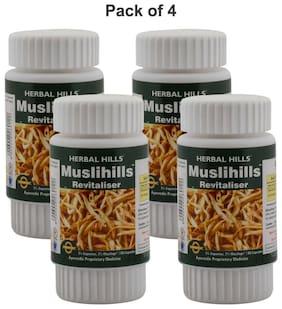 Herbal Hills Muslihills  60 Capsules (Pack of 4)