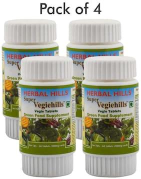 Herbal Hills Super Vegiehills 60 Tablets (Pack of 4)