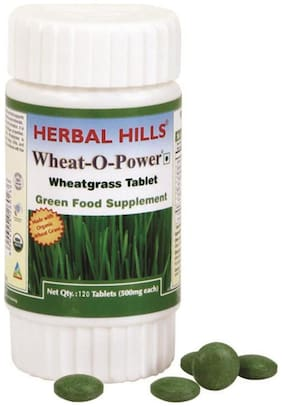 Herbal Hills Wheat - O - Power 120 Tablet