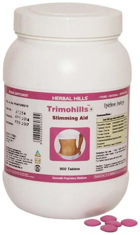 Herbal Hills Trimohills - Value Pack 900 Tablets