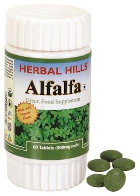Herbal Hills Alfalfa 60 Tablets