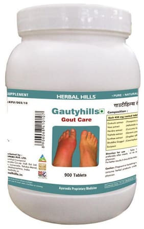 Herbal Hills Gautyhills - Value Pack 900 Tablets