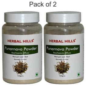 Herbal Hills Punarnava Powder - 100 G Powder - Pack Of 2