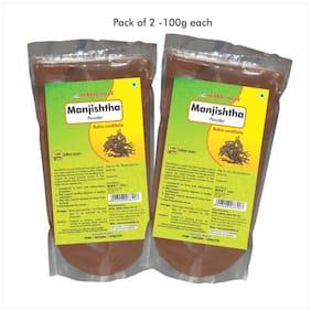 Herbal Hills Manjishtha Powder - 100 G Powder - Pack Of 2