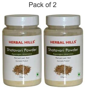 Herbal Hills Shatavari Powder - 100 gm Powder - Pack Of 2