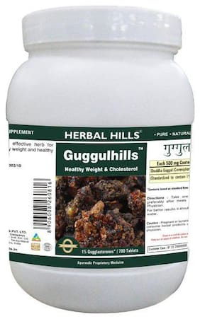 Herbal Hills Guggulhills - Value Pack  700 Tablets