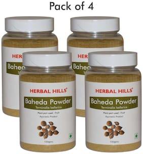 Herbal Hills Baheda Powder - 100 g (Pack of 4)