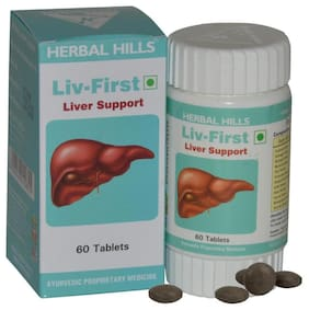 Herbal Hills Liv First 60 Tab