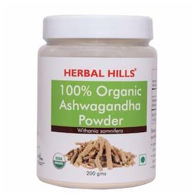 Herbal Hills Organic Ashwagandha Powder 200 g