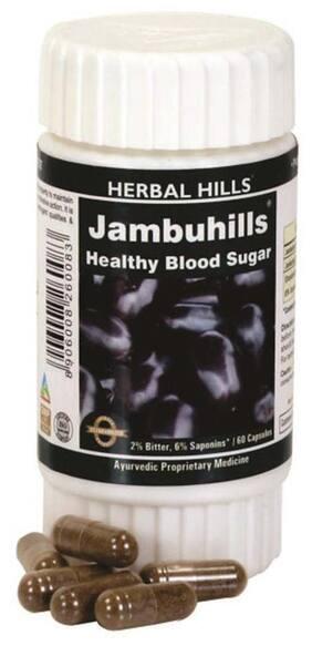 Herbal Hills Jambuhills 60 Cap