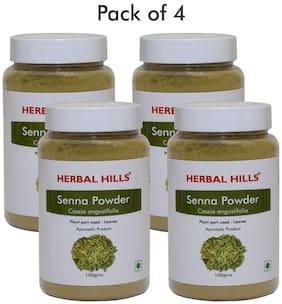 Herbal Hills Senna powder - 100 g (Pack of 4)