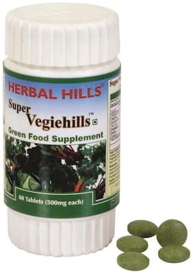 Herbal Hills Super Vegiehills 60 Tablets