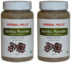 Herbal Hills Jambu Beej Powder - 100G Each - Pack Of 2