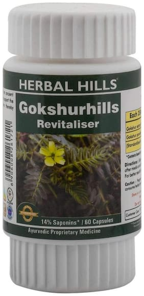 Herbal Hills Gokshurhills 60 Capsule