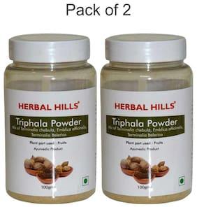 Herbal Hills Triphala Powder - 100 G Powder - Pack Of 2