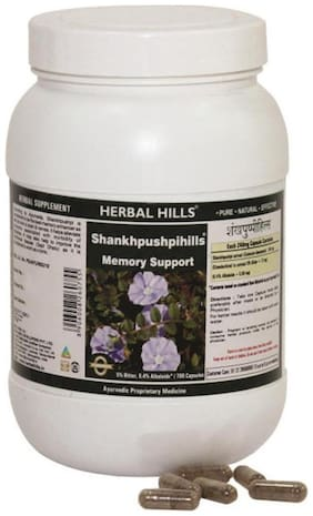 Herbal Hills Shankhpushpihills - Value Pack 700 Caps