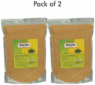 Herbal Hills Karela Powder - 1 kg powder - Pack of 2
