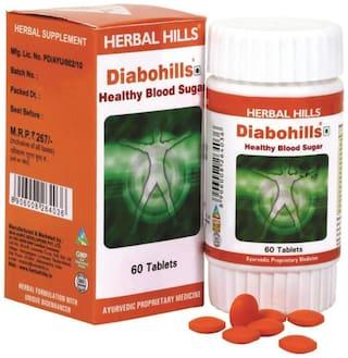 Herbal Hills Diabohills 60 Tablets
