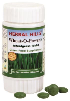 Herbal Hills Wheat - O - Power 60 Tablet