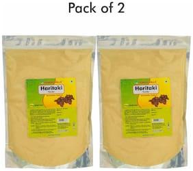 Herbal Hills Haritaki Powder - 1 kg powder - Pack of 2