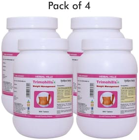 Herbal Hills Trimohills - Value Pack 900 Tablets - Pack of 4