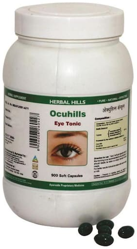 Herbal Hills Ocuhills - Value Pack 900 Capsule